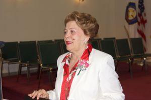 Pastora Lidia Rodríguez. directora principal de Ministerios El Buen Pastor Internacional.