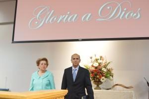 El Pastor Héctor Cornejo ofreció la prédica. El siervo de Dios es oriundo de Ecuador.