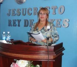 Pastora Flor Rodríguez, invitada especial.