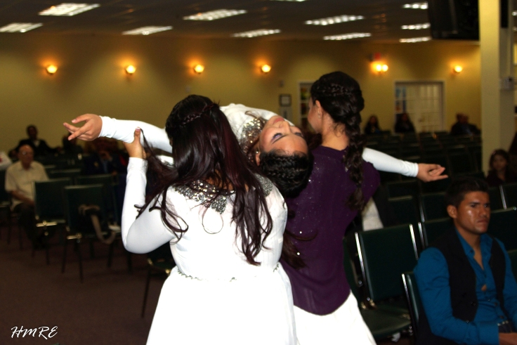 Coregografía ofrecida por el Grupo de Danza.