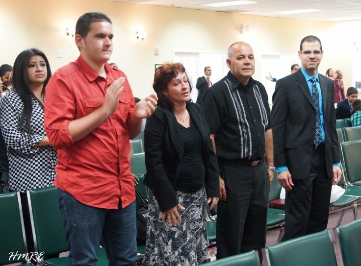 El Pastor Pereira se encuentra en Miami desde hace unos días. El domingo 11 estuvo en Ministerios El Buen Pastor Internacional donde compartió con algunas amistades de Cuba.