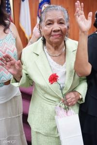 La abuelita de Ministerios El Buen Pastor Internacional. Leticia Reyes.