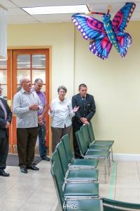 El Obispo de Iglesia Metodista de Cuba, Ricardo Pereira asistió al Concierto de Verano.